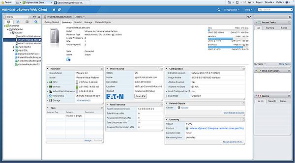 Eaton IPM, die USV-Kontrollsoftware
