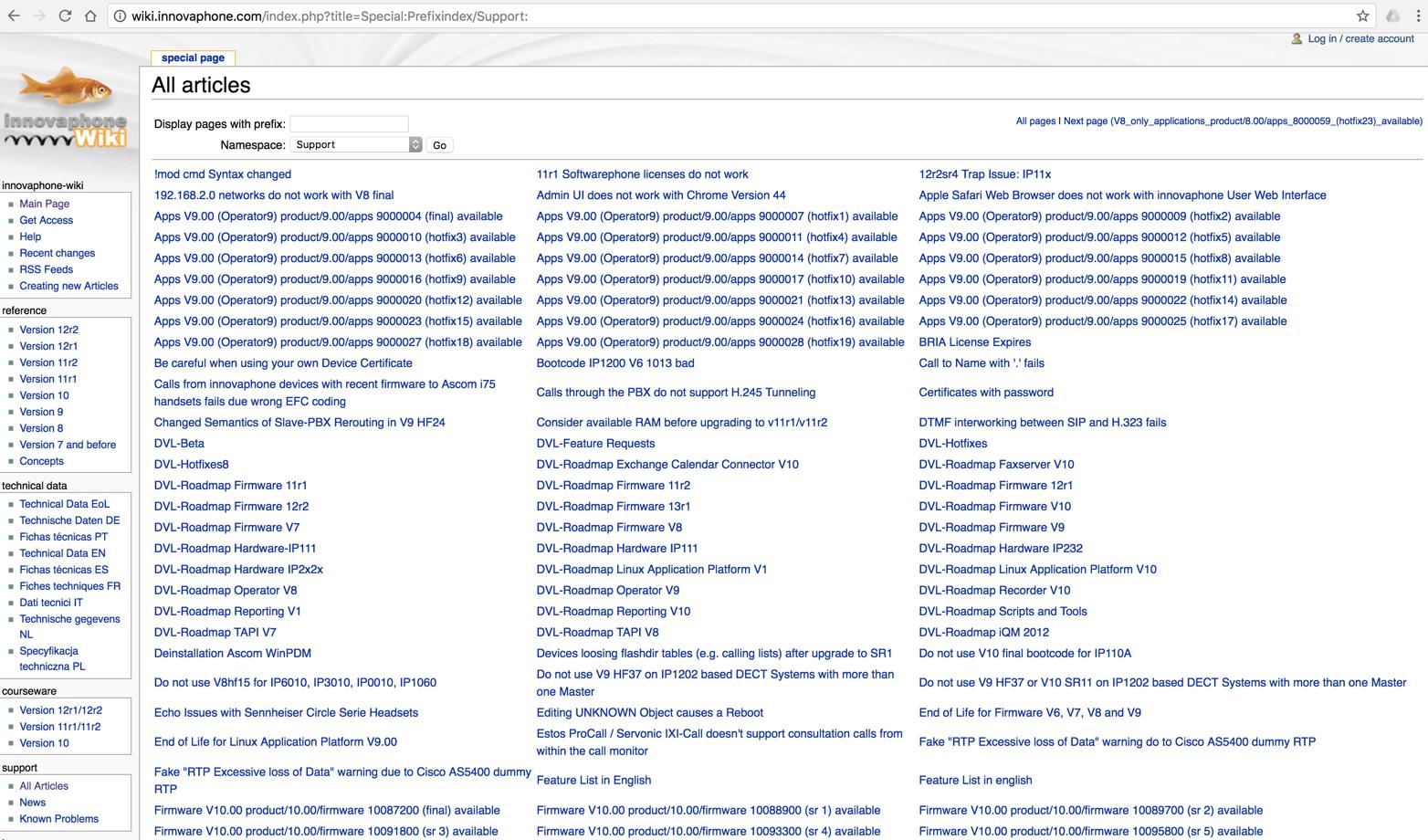 Das innovaphone Wiki