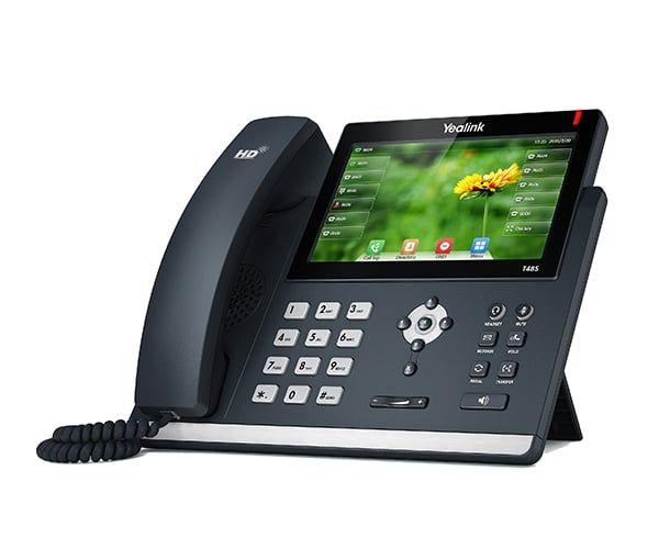YEALINK Telefon mit Touch-Display
